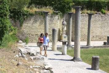 les ruines de Vaison-la-Romaine